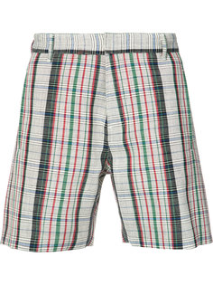 checked shorts Orley
