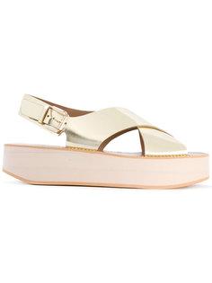 Malabar sandals Flamingos