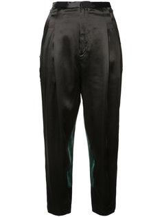 contrast drop crotch trousers Toga