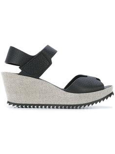 open toe wedge sandals Pedro Garcia