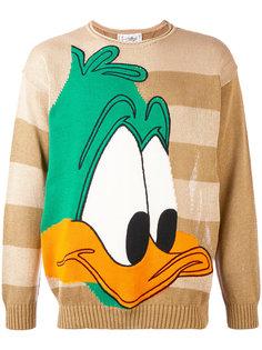 Warner Brothers duck cartoon intarsia sweater Jc De Castelbajac Vintage