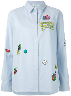 patch work shirt Mira Mikati