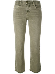 frayed kick flare jeans Current/Elliott