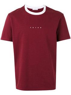 logo print T-shirt Futur