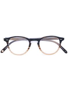 gradient round glasses Garrett Leight