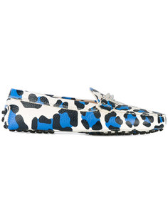 leopard print loafers Tods Tod`S