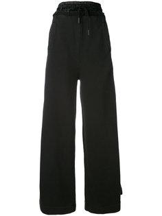брюки-палаццо со шнурком  Off-White