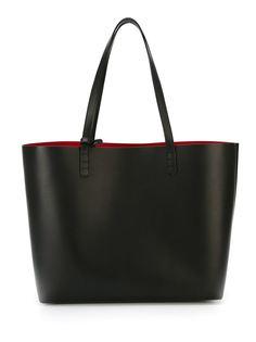 двухцветная большая сумка-тоут  Mansur Gavriel