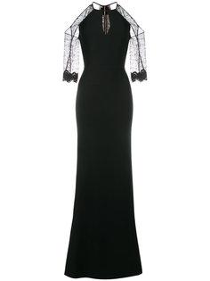 платье с открытыми плечами  Roland Mouret