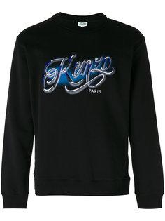 embroidered logo sweatshirt Kenzo