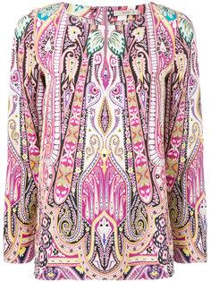 блузка с цветочным мотивом Etro