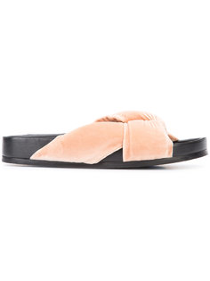 сандалии с перекрещенными ремешками Chloé