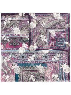 шарф с узорами Etro