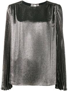 блуза с длинными плиссированными рукавами Christopher Kane