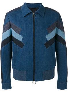 джинсовая куртка на молнии Neil Barrett