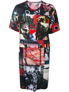 платье-футболка с рисунком Kenzo