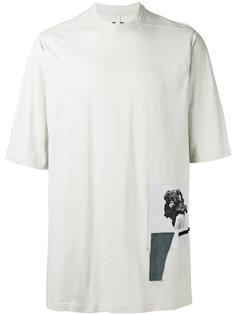 футболка с заплатками Jumbo  Rick Owens DRKSHDW