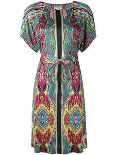платье миди с орнаментом Etro