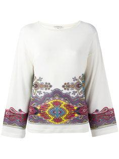 блузка с рисунком Etro