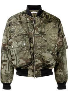 камуфляжная куртка-бомбер Givenchy