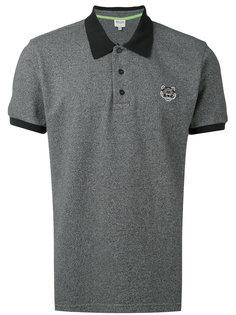 футболка-поло с заплаткой в виде тигра Kenzo