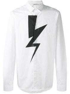 рубашка Lightning Bolt Neil Barrett