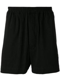 спортивные шорты с вышивкой Rick Owens DRKSHDW