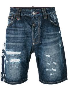 джинсовые шорты So High Philipp Plein