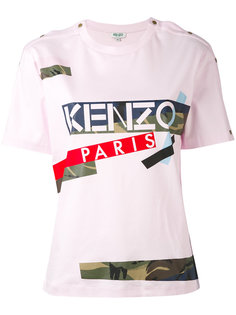 футболка Broken Camo Kenzo