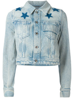 выбеленная джинсовая куртка Givenchy