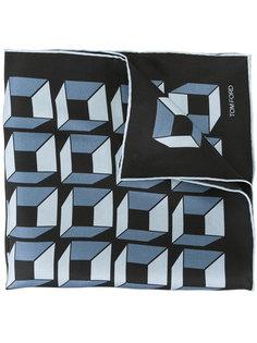 шарф с кубическим принтом  Tom Ford