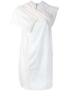 платье с отделкой на горловине Rick Owens