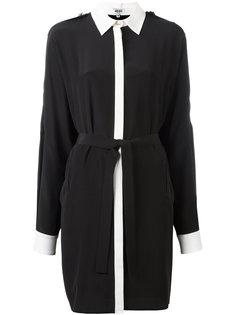 объемное платье-рубашка Kenzo