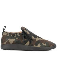 кроссовки с молниями Giuseppe Zanotti Design