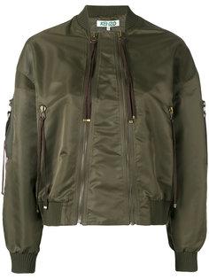 укороченная куртка-бомбер   Kenzo