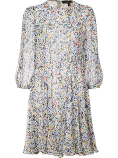 splatter print flared dress Derek Lam