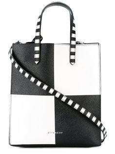 сумка-тоут в клетку Givenchy