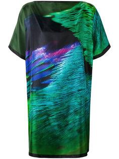 платье-футболка с абстрактным рисунком Max Mara