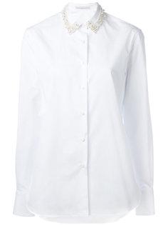 рубашка с декорированным воротником Ermanno Scervino
