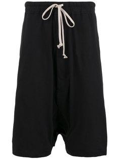 шорты с заниженной шаговой линией Rick Owens DRKSHDW