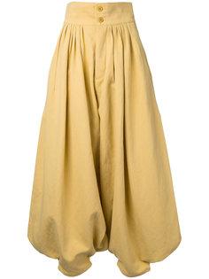 брюки-шаровары с завышенной талией Chloé