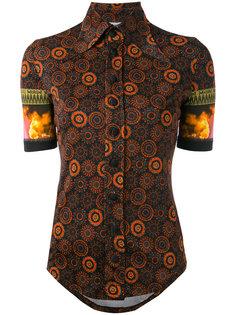 рубашка с удлиненным воротником Givenchy