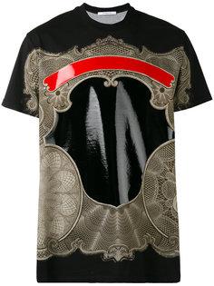 футболка с принтом в стиле Барокко Givenchy