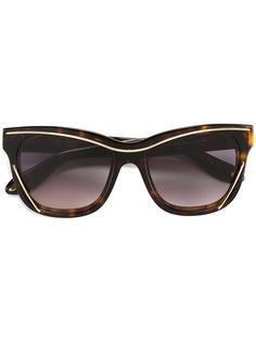солнцезащитные очки в объемной оправе Givenchy