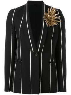 куртка с цветочной аппликацией Brunello Cucinelli