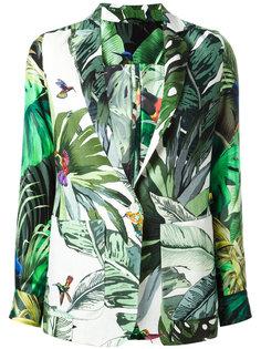 пиджак с тропическим принтом Max Mara