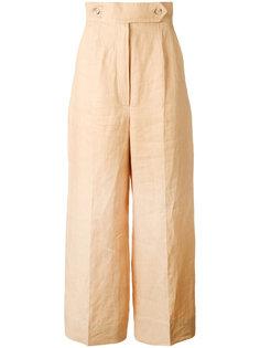 брюки с завышенной талией Sportmax