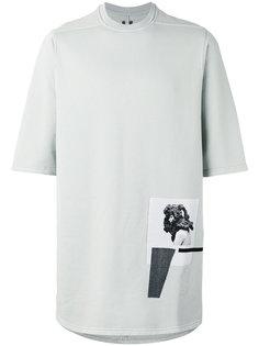 футболка с нашивкой Rick Owens DRKSHDW