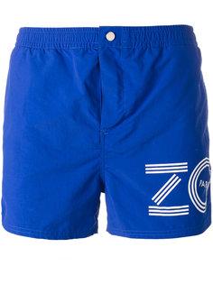 шорты для плавания с принтом логотипа Kenzo
