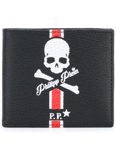 складной кошелек с принтом Sucre Philipp Plein